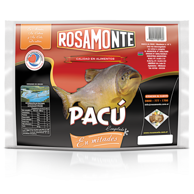 PACU ROSAMONTE DESESPINADO X KG